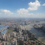 View from the Shanghai World Financial Center - China
