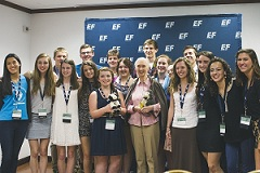 Jane Goodall and the Interns Thumb
